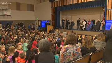Shelton elementary students help support classmate fighting cancer
