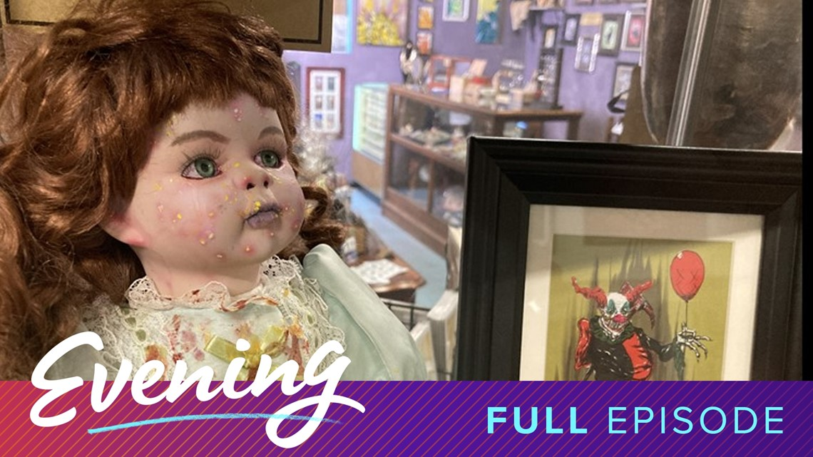 Full Moon Flea Market in Tacoma and Halloween book recommendations | Full Episode - KING 5 Evening