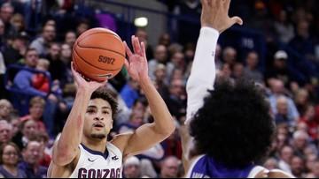 Woolridge leads No. 8 Gonzaga over Texas-Arlington 72-66