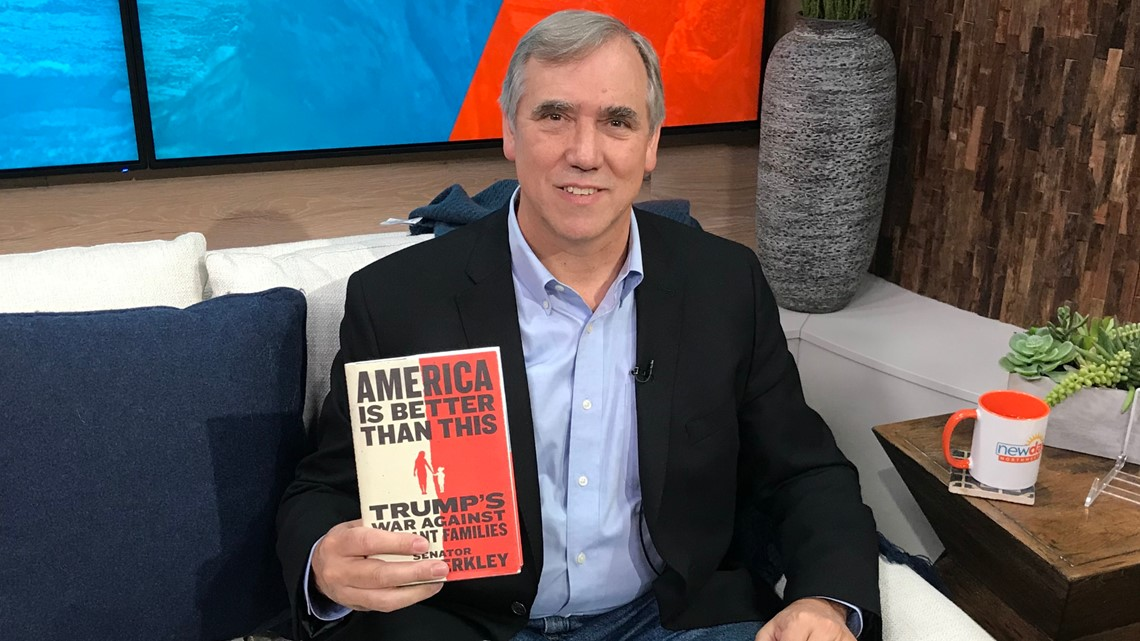 America at a crossroad: Senator Jeff Merkley on the border crisis - New Day Northwest