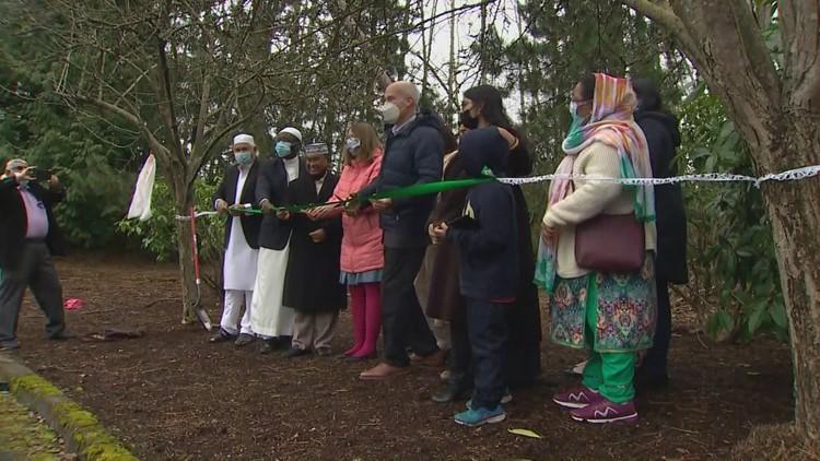 Muslim community celebrates groundbreaking of first mosque in Mukilteo