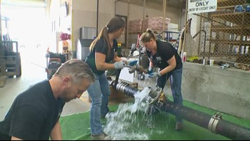 Tacoma women's water tapping team heads to national competition
