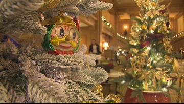 Seattle Festival of Trees turns the Fairmont Olympic Hotel lobby into a winter wonderland