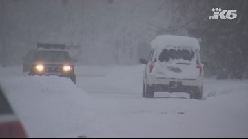 Tuesday breaks 24-hour snowfall record for Snoqualmie Pass