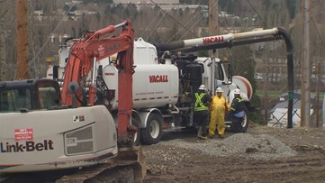 15-20 gallons of fuel spills at Woodinville pipeline sites