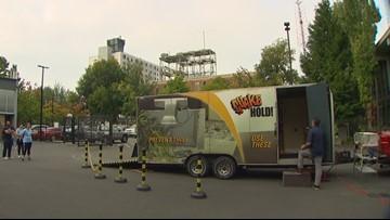 Seattle kids prepare for an 8.0 earthquake in 'The Big Shaker' simulator