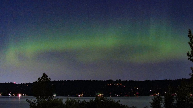 Look for Northern lights over Washington overnight