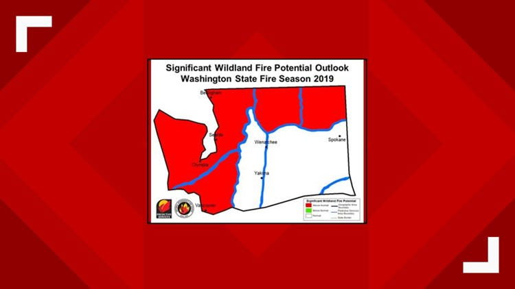 Washington wildfire outlook