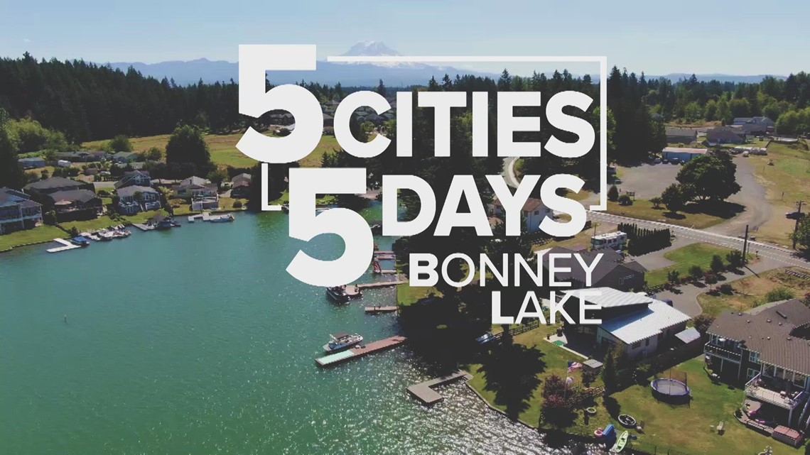5 Cities in 5 Days: Bonney Lake