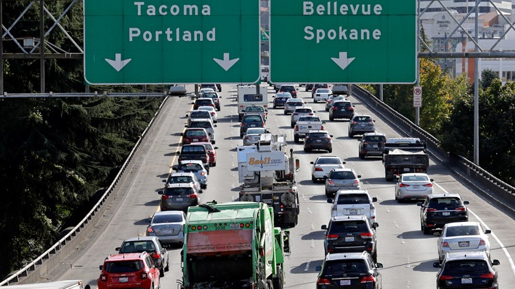 Seattle drivers wasted nearly 6 days sitting in traffic last year