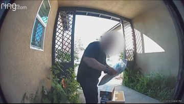 Renton police catch porch pirates with bait packages
