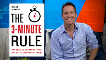 Perfect your business pitch with the three-minute rule