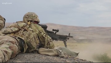 Washington National Guard preparing to deploy to the Middle East