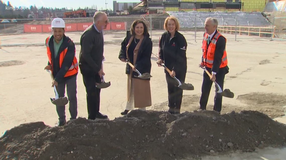 NHL Seattle breaks ground on Northgate Mall training facility