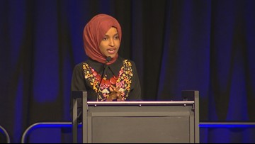 Rep. Ilhan Omar hopes to inspire diversity in politics at Bellevue event