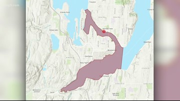 No-contact order for Sinclair Inlet and Port Washington Narrows after large sewage spill