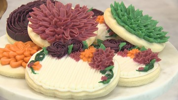 Jenny Cookies Bake Shop is creating sugar cookie masterpieces