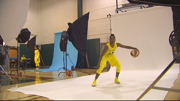 Storm guard Jewell Loyd will be out for awhile