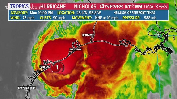 Southeast Texas officials prepare for Hurricane Nicholas, urge community to do the same