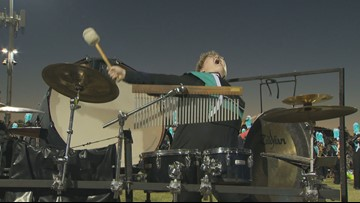 Arizona high school percussionist's passionate performance steals the show