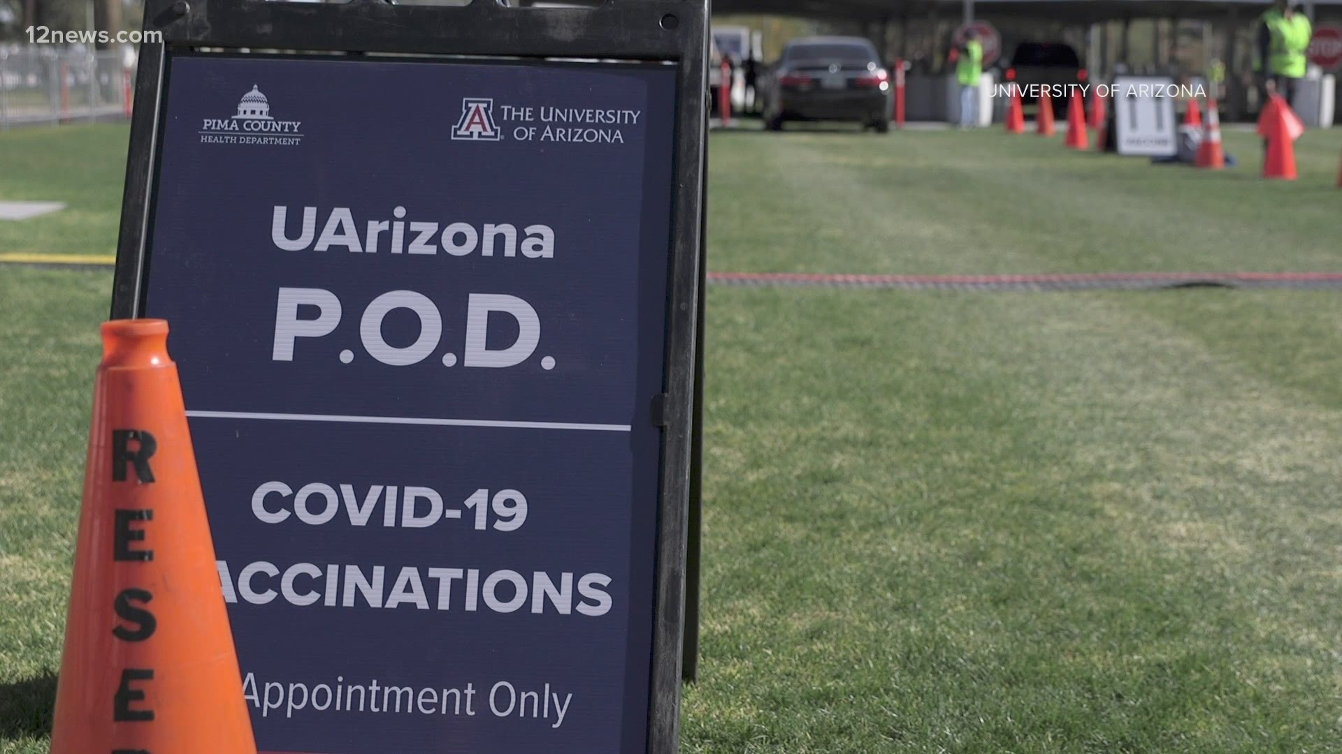 12 000 Covid 19 Vaccine Appointments At Uarizona S Tucson Campus Filled Within Hours King5 Com