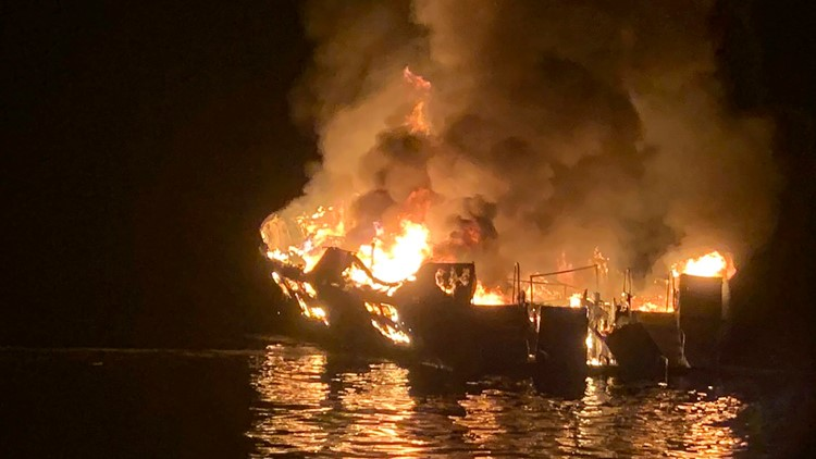 Boat Fire California Liability