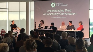 Panel defends 'Drag Queen Story Hour' during discussion at Spokane library