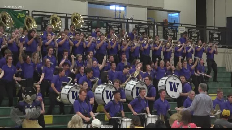 UW marching band thanks first responders, community for help after 2018 crash