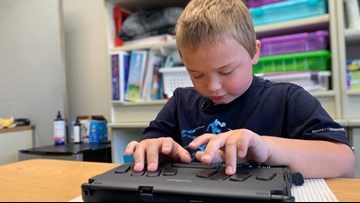 Spokane 8-year-old only student in PNW heading to national braille competition