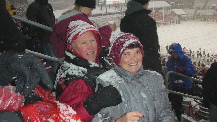Weger at the Apple Cup