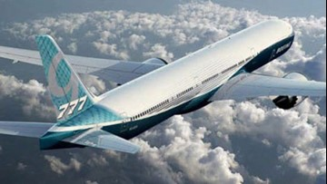 Boeing continues 777X jetliner test flights in the Northwest