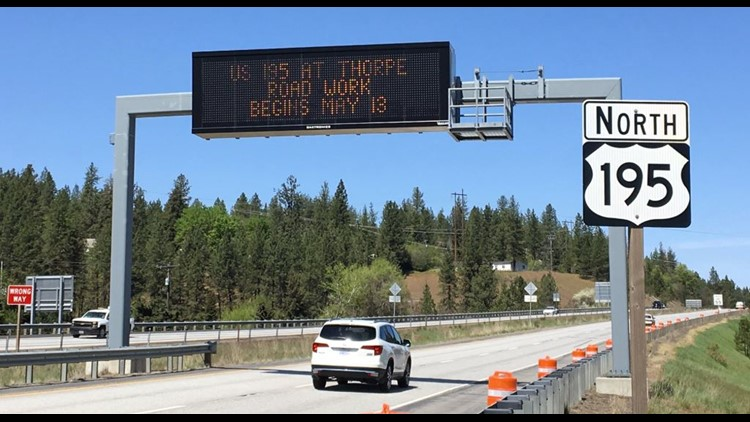 Washington's first 'J-Turn' opens Tuesday at Hwy 195 and Thorpe