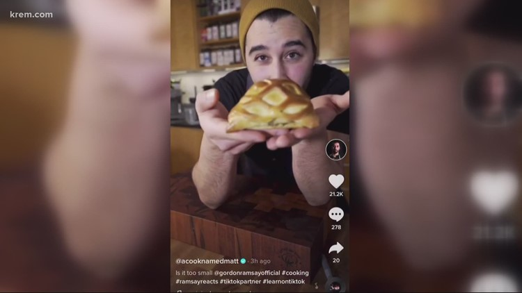 Chef goes viral on TikTok after losing job in Seattle during pandemic