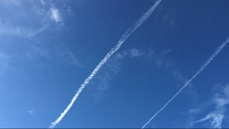 Two Navy aviators disciplined after drawing obscene images in the sky
