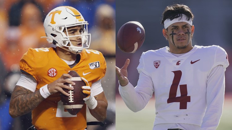 WSU narrows quarterback battle down to two
