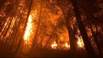 Evacuations still in place for Crescent Mountain Fire near Twisp