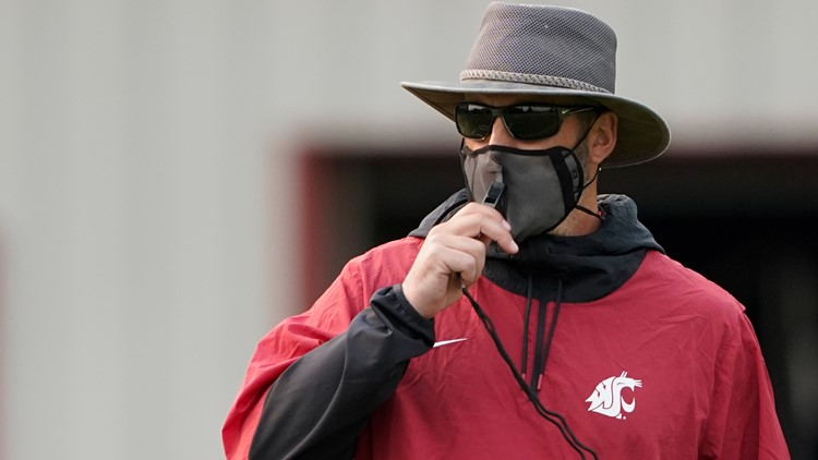 WSU football coach Nick Rolovich says he will follow state's COVID-19 vaccine requirement