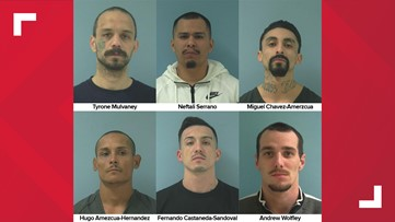 Rewards offered for remaining six escaped Yakima Co. inmates