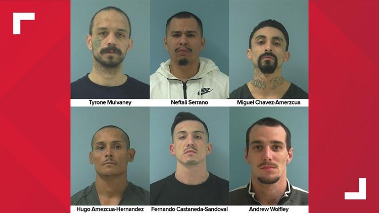 Escaped Yakima County Jail inmates