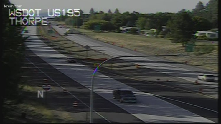 Washington's first 'J-Turn' opens Tuesday at Hwy 395 and Thorpe