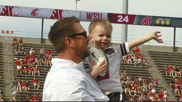 Ryan Leaf reflects on journey during WSU Hall of Fame induction weekend
