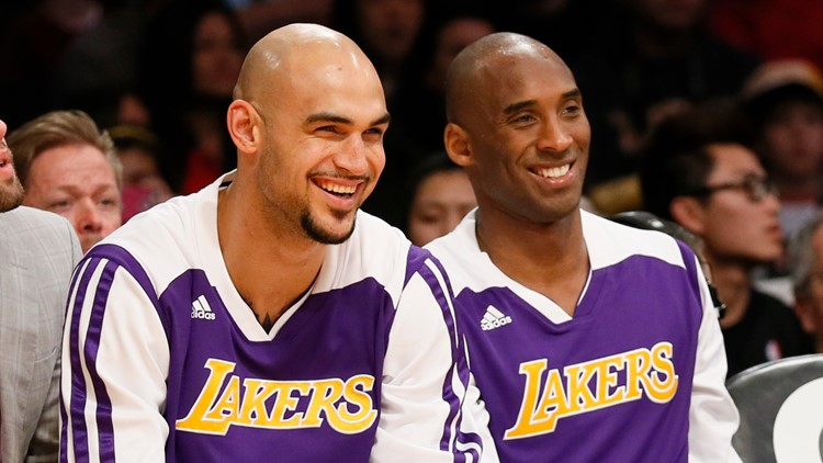 'He's left something in everybody's heart': Former Zag Rob Sacre looks back on his time with Kobe Bryant