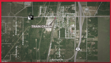 Amtrak train going to Seattle collides with truck in Athol