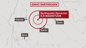 Strange connection between 6.5 Idaho earthquake and western Washington