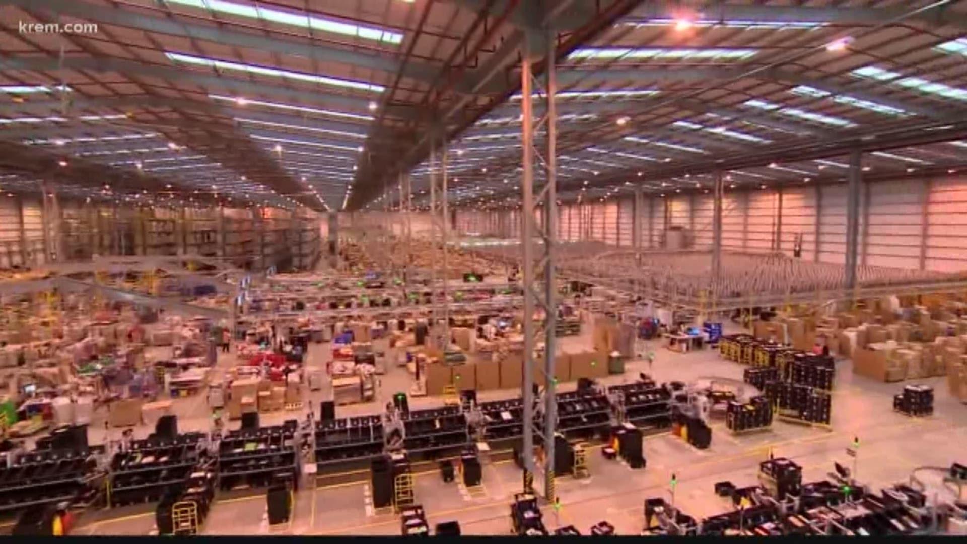 Spokane Amazon Fulfillment Center Expected To Open Mid 2020 King5 Com