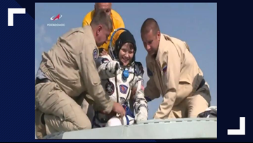 Spokane astronaut Anne McClain returns to Earth after 204 days in space