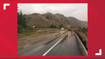 Highway 97 between Entiat and Chelan reopens after crews clear mudslide