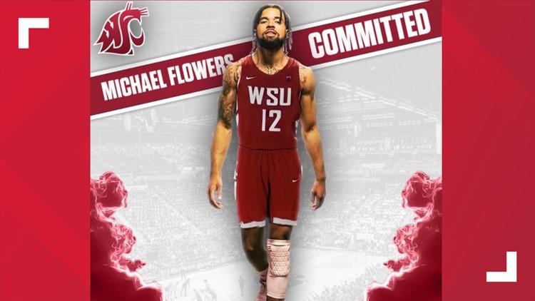 Washington State men's basketball lands top scoring transfer Michael Flowers