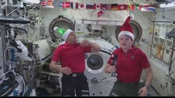 Spokane native celebrates Christmas, 50-year space anniversary on ISS