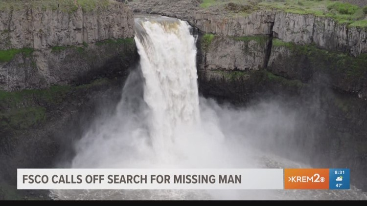 FCSO calls off search for missing man who fell above Palouse Falls